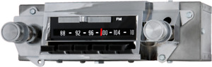 1966 Chevelle Am Fm Stereo Bluetooth Radio Made In The Usa