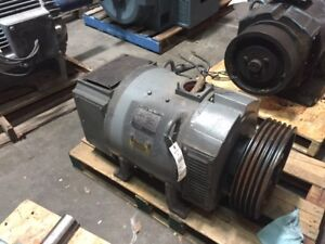 75 Hp Dc Baldor Electric Motor 1750 Rpm 366at Frame Dpfv 500 V