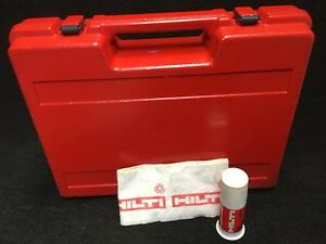 Hilti Te 22 Original Tool Case only Preowned Free Grease Fast Shipping