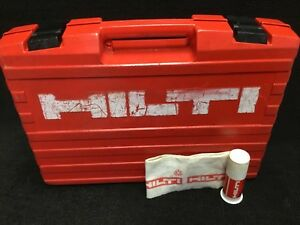 Hilti Te 6 S Original Tool Case only Preowned Free Grease Fast Shipping