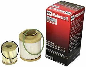 Motorcraft Ford F Series 6 0l Powerstroke Turbo Diesel Fuel Filter Fd4616