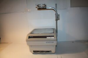 Vintage Apollo Horizon Model 15000 Overhead Projector Tested Working Euc