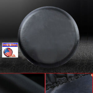 Heavy Duty Vinyl Spare Tire Cover 30 31 For Hummer H3 265 75r16 265 65r18 Blk