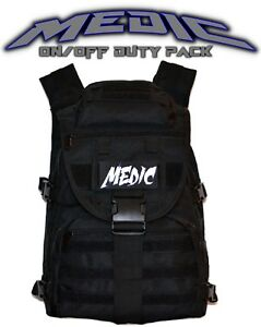 Medic First Responder Backpack Duty Bag First Aid Emergency Kit Free Shipping