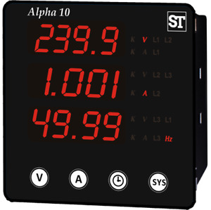 Sifam Tinsley Alpha 10 Volt amp frequency Meter
