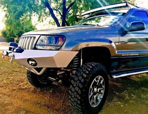 Roof Mounts For 52 Or 50 Curved Led Light Bar 99 04 Jeep Grand Cherokee Wj