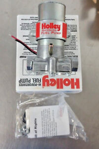 Holley 97 Gph Red Electric Fuel Pump Marine Fume Tube 712 801 1 7psi 12 Volt