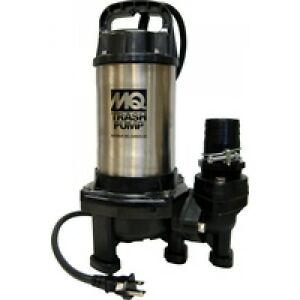 Multiquip s Px400 34 Ft Head 115v Stainless Steel Electric Submersible Pump
