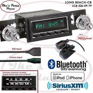 Retrosound Long Beach Cb Radio Bluetooth Ipod Usb 3 5mm Aux In 226 09 Catalina