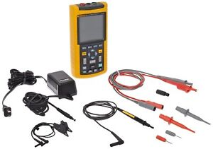 Fluke 123 003s Industrial Scopemeter 20mhz Digital Oscilloscope