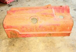 Farmall H Tractor Hood Ihc Mccormick W Latches Ihc Sheet Metal Rat Rod Hood