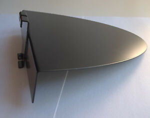 10 Slatgrid Shoe Float shelf 10 x10 With Round Front Black Metal Store Display