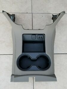 2015 2016 Tahoe Yukon Suburban Dune Brown Center Console Cup Holders Cupholders