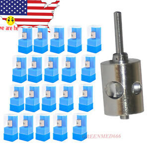20pc Dentist Air Turbine Cartridge Standard Torque Push Button Fit For Nsk Kavo