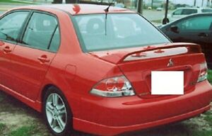 Fits Mitsubishi Lancer 2004 2007 Ralliart Style Rear Trunk Spoiler Painted p