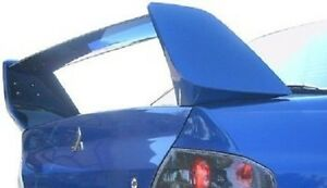 Fits Mitsubishi Lancer 2004 2007 Evo Style Bolt On Rear Trunk Spoiler Painted