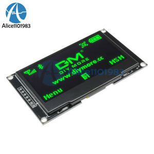 2 42 Inch Green Oled Lcd Display Ssd1309 128x64 Spi iic Serial Port For Arduino