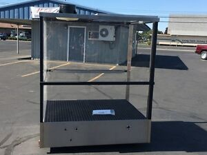 Pressure Wash Spray Booth 4 X 5 Stainless Steel Tank