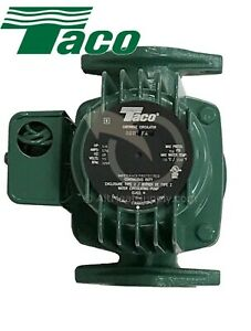 Taco 0011 f4 1 8 hp Cast Iron Cartridge Circulating Pump