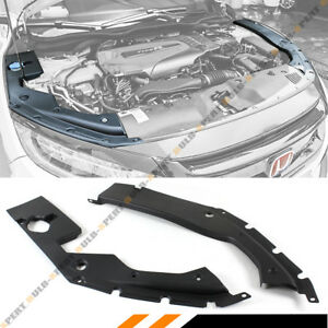 For 16 2020 10th Gen Honda Civic Engine Bay Side Panel Covers Pair Long Version