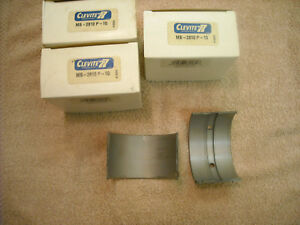 3 Sets Of Clevite Mb 2810p 10 Main Bearings For Case 188 Or 207 Engine