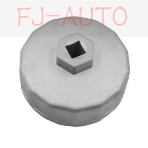 Brand New Oil Filter Wrench Cap Tools Fits For Benz Vw Audi 74mm 14 Flutes