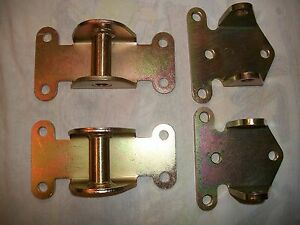 High Performance Racing Small Block Chevy Solid Steel Motor Mounts Sbc 1958 Up
