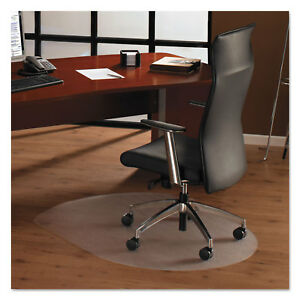 Floortex Cleartex Ultimat Polycarbonate Chair Mat For Hard Floors 49 X 39 Clear