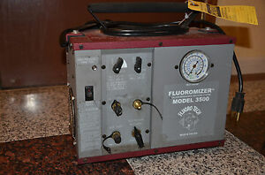 Fluoro Tech Fluoromizer Oilless Refrigerant Recovery System Model 3500 Usa Made