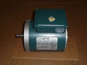 Reliance Electric Ac Motor P56x1331 2 25 Hp 1725 Rpm 230 460v 1 4 Hp Fb56c
