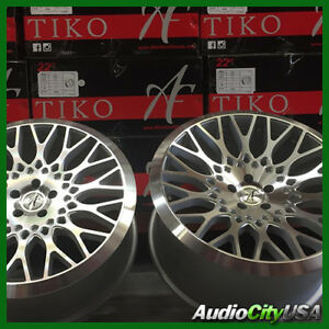 22 Staggered Afentiko Silver Machine Rims luxury Fit Lexus Ls460 Rx350