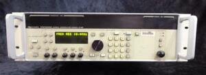 As is Gigatronics 6100 Synthesized Microwave Signal Generator Options 03 06