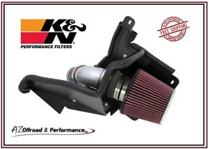 K N 69 Series Silver Typhoon Air Intake System 12 17 Ford Focus 2 0l Non Turbo