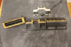 Rare 1988 1994 Wood Grain Jeep Wrangler Yj Dash Assembly With Switch Bezel Oem