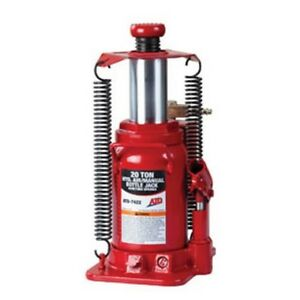20 Ton Heavy Duty Hydraulic Air Actuated Bottle Jack Atd 7422 Brand New