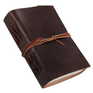 Leather Journal Notebook Pocket Diary Handmade Vintage Blank Writing Sketchbook