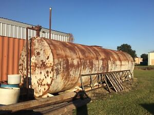 12000 Gallon Bulk Fuel Tank