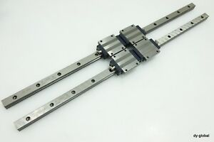 Iko Used Lwht20 720mm 2 Lm Ball Wire Type Guide Linear Bearing 2rails 4blocks