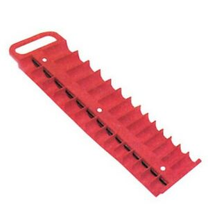 Large Magnetic 3 8 Socket Tray Red Lis 40200 Brand New