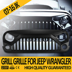 Upgrade Angry Bird Front Grill Grille Fits Jeep Wrangler 07 18 Jk Unlimited