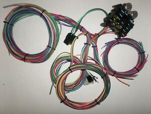 12 Circuit Ez Wiring Harness Chevy Mopar Ford Hotrods Universal X Long Wires