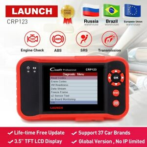 Launch X431 Crp123 Obd2 Code Reader Scanner Test Engine abs srs at X 431 Crp 123