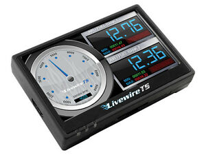 Sct Livewire Ts 4 Color Touch Screen Tuner 08 12 Ford Powerstroke Diesel Truck