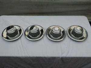 4 Chevrolet Ralley Rally Top Hat Center Caps For Chevy Muscle Car Wheels