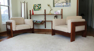 Mid Centurytobia Scarpa Knoll Lounge Chairs