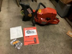 Husqvarna 12 Gas Cutoff Saw 371k New Old Stock