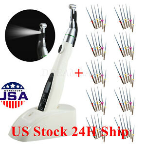 Us Dental Cordless Endo Motor 16 1 Reciprocating Head Rotary Niti Files Sx f3