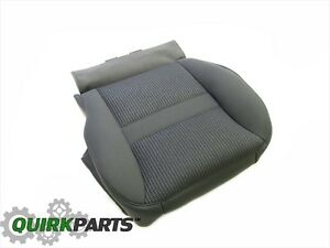 2006 Dodge Ram 1500 2500 3500 Front Drivers Bottom Seat Cover Gray Oem New Mopar