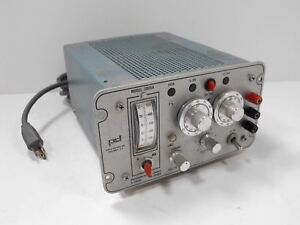 Pd Power Designs Model 2005a Precision Power Source Supply 0 20 Vdc 0 500 Ma