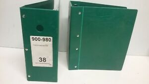 lot Of 2 Mcbee Parts Catalog Post Binders Opens Up From 5 To 6 3 4